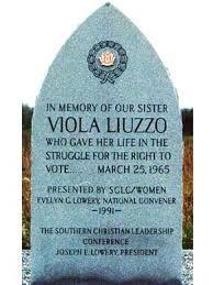 Viola Liuzzo Memorial Stone